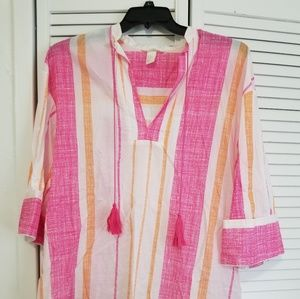 Striped Tunic/Dress size xs